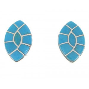 Sterling Silver Jewelry and Turquoise Post Earrings RS32393