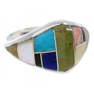 Multicolor Southwestern Ring Size 7-3/4 GS74115