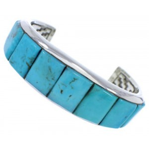 Silver Turquoise Cuff Bracelet GS76350