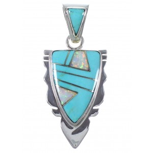 Southwest Opal Turquoise Pendant Jewelry PX42110