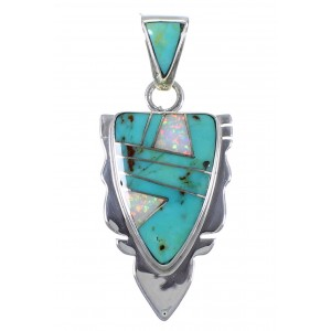 Turquoise Jewelry Opal Pendant PX42112