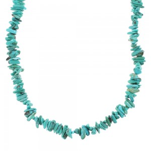 Sterling Silver Turquoise Bead Necklace RX96660