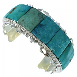 Turquoise Sterling Silver Cuff Bracelet AX99871