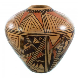Hopi Hand Crafted Pottery By Artist Louden Silas SX107044