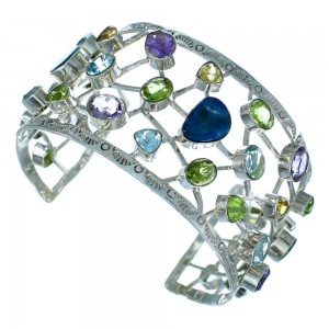 Multicolor Gem Stone Southwest Bracelet Jewelry GS57397