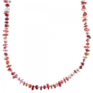 Oyster Shell Sterling Silver Bead Necklace DX116024