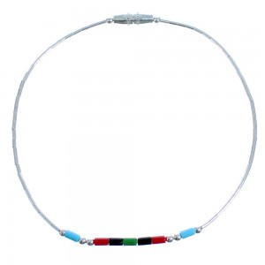 Genuine Hand Strung Liquid Silver & Multicolor Bead Bracelet CS117774