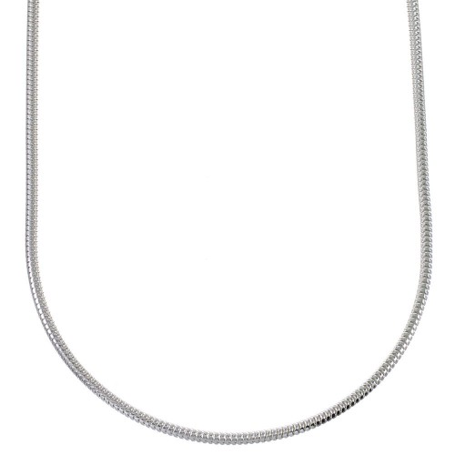 "Sterling Silver 16"" Charm Necklace QX77300"