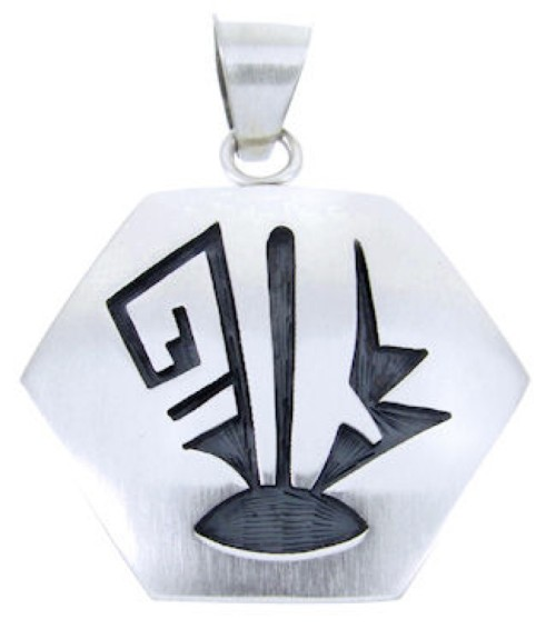 George Phillips Silver Native American Pendant AW65791