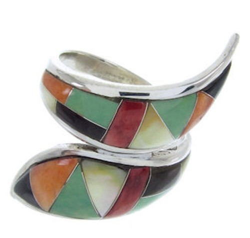 Whiterock Sunset Multicolor Jewelry Ring Size 5 YS70284