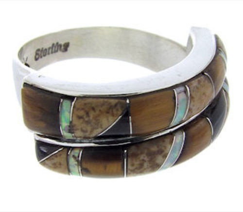 Multicolor Whiterock Rocky Trails Jewelry Ring Size 6-3/4 YS70316
