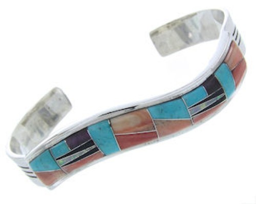 Southwest Oyster Shell Turquoise Multicolor Jewelry Bracelet AW70299