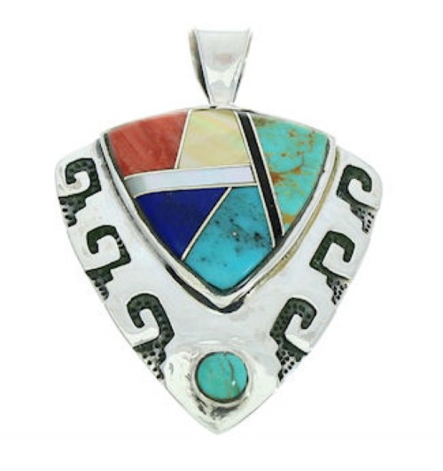 Multicolor Sterling Silver Pendant Jewelry GS75912