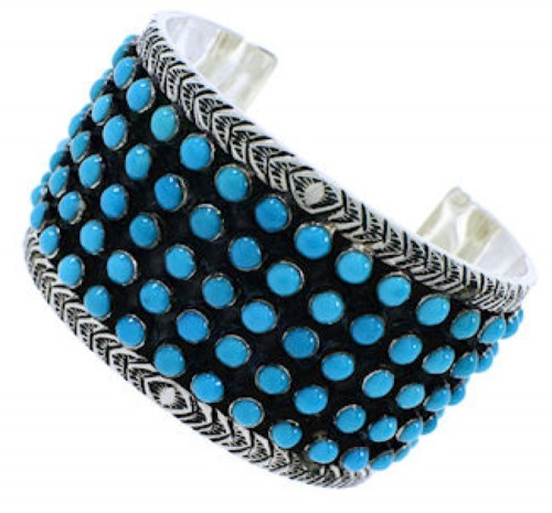 Sterling Silver Turquoise  Bracelet Jewelry PX27506