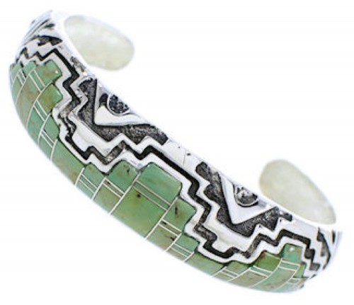 Sterling Silver Turquoise Jewelry Southwest Cuff Bracelet MX27164