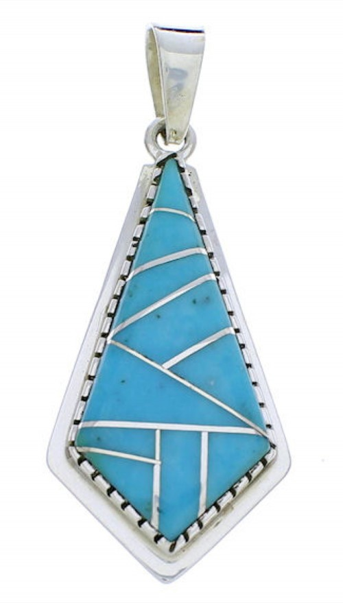 Sterling Silver and Turquoise Jewelry Pendant PX23917