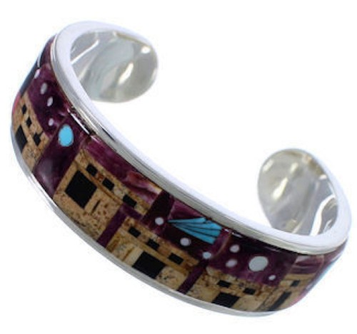 Picture Rock Multicolor Bracelet Native American Design NS40615