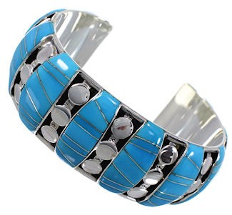 Sterling Silver Turquoise High Quality Bracelet TX40602