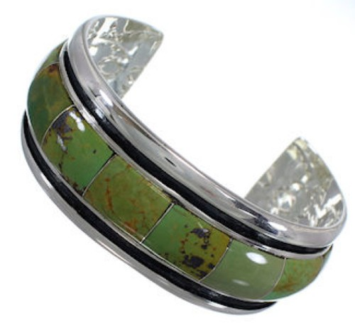 Genuine Sterling Silver Turquoise Cuff Bracelet EX41607