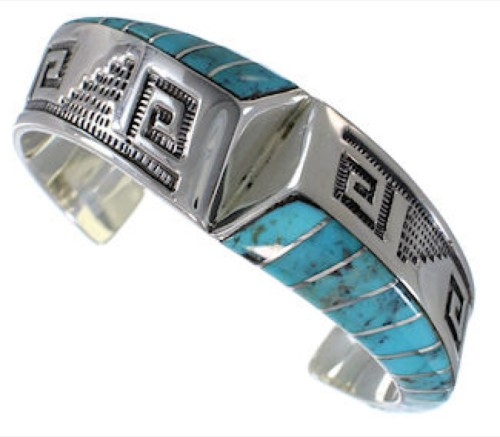 Turquoise Silver Southwest Bracelet Jewelry PX27930