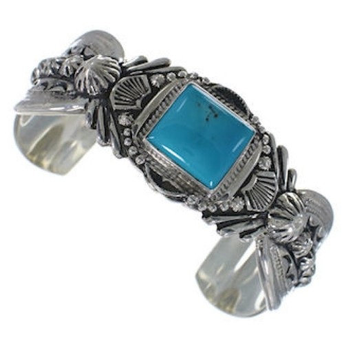 Southwest Silver Turquoise Jewelry Bracelet FX27471