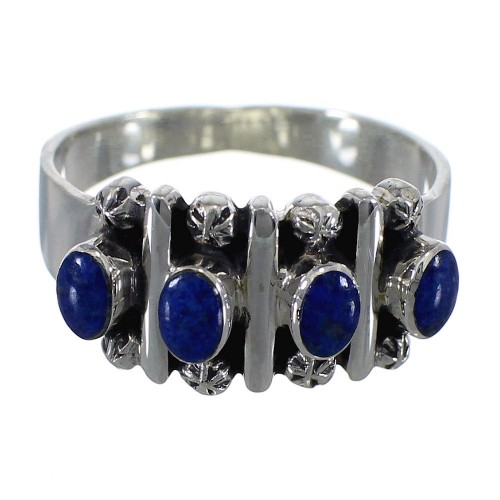 Lapis Authentic Sterling Silver Ring Size 5 RX60706