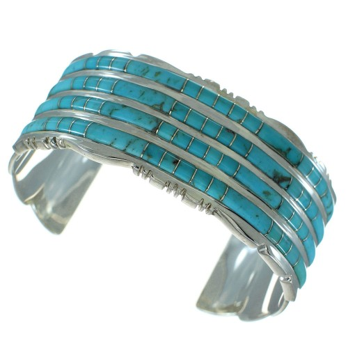Turquoise Sterling Silver Cuff Bracelet AX78160
