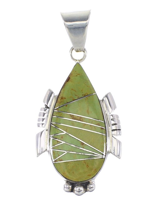 Turquoise Sterling Silver Pendant AX95556