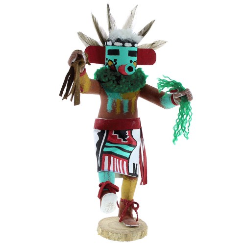 American Indian Navajo Indian Early Morning Singer Kachina Doll NX99476