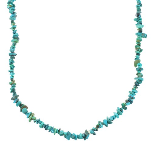 Southwest Turquoise Bead Necklace RX101916