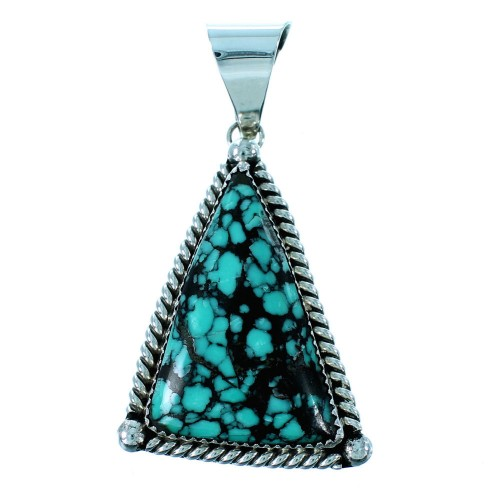 American Indian Turquoise And Sterling Silver Pendant SX106599