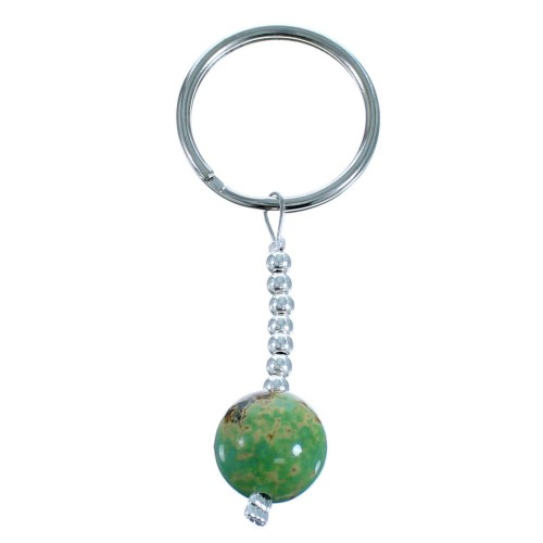 Turquoise And Sterling Silver Key Chain RX114898
