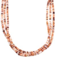 Oyster Shell Bead Necklaces