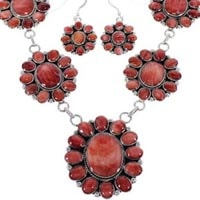 Red Oyster Shell  Necklaces