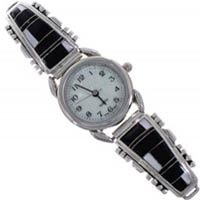 Sterling Silver Inlay Watches