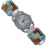 Sterling Silver Multicolor Watches