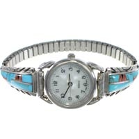 Sterling Silver Stretch Watches