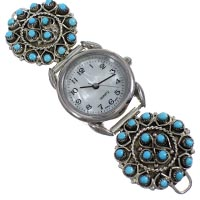 Sterling Silver Zuni Watches