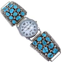 Sterling Silver Stone Watches